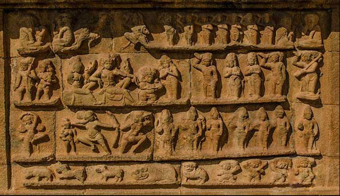 Big Temple Sculptures