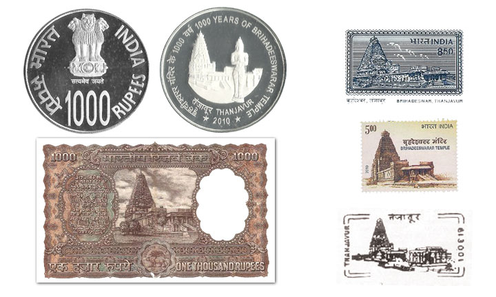 Stamp & Coin of Big Temple