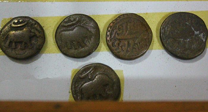 Mysore Tipu Sultan's copper coins