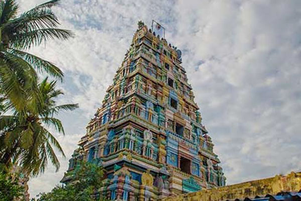 Gopuram Punnainallur Mariamman