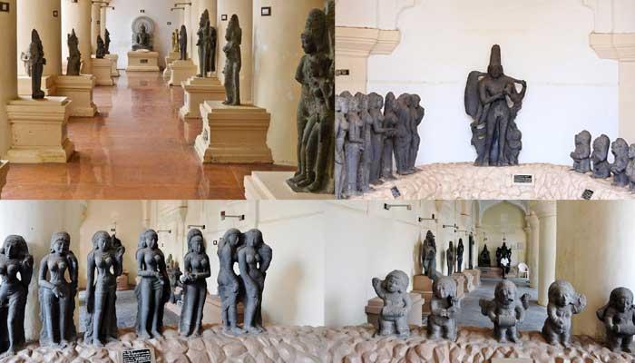 Maratha Palace Sculptures Thanjavur