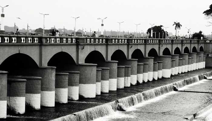 Kallanai Dam Construction