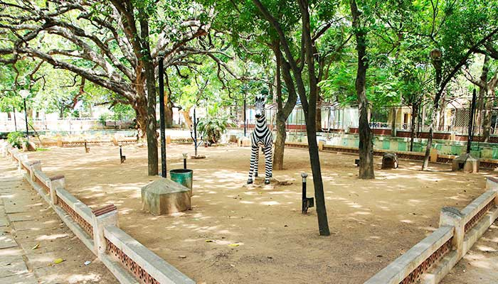 Sivaganga Park History Thanjavur