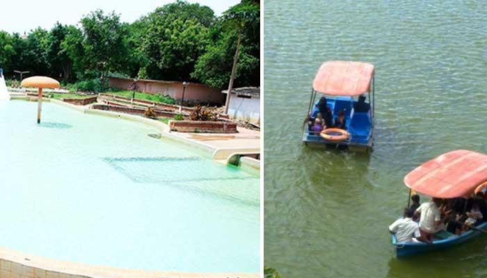 Sivaganga Park Waterfalls Thanjavur